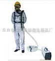 正供应单人带蓄电强制送风呼吸器,电动送风长管呼吸器,压式空气呼吸器