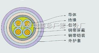 供应KVV22-24*2.5mm²多芯铠装控制电缆KVV22