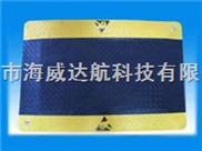 表面防滑设计及耐酸碱溶剂钢花纹抗疲劳地垫