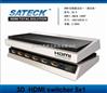 HDMI视频切换器四进一出