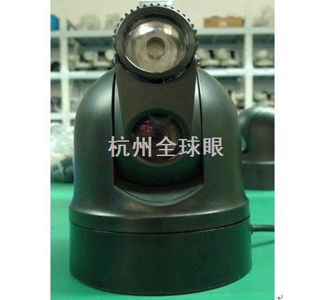 3g红外激光车载球云台摄像机