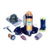 船用消防员装备、安全装备、个人防护装△备、保护装备 散装备