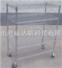 加附栏可自由拼接成各种排列方式双刹车防静电货架